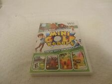 Mini Golf Resort Video Game Nintendo Wii New Sealed Free Shipping
