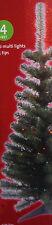 GREEN CHRISTMAS TREE PRE LIT GREEN 4FT 100 MULTI COLORED LIGHTS 125TIPS (SMART