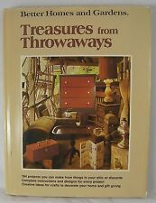 Treasures from Throwaways Book Better Homes & Gardens BHG 1976 Retro Projects