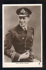 r3634 - Prince George the Duke of Kent (son of George V) in uniform - postcard