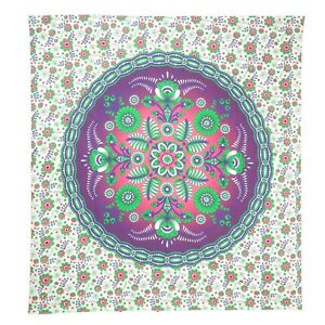 Floral Bohemian Bedspread Tapestry Hippy Indian Wall Hanging Wall Art Home Décor