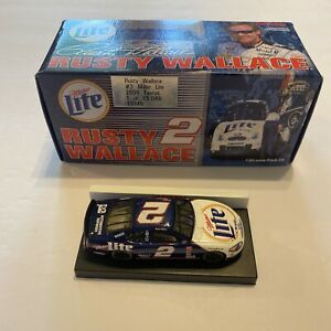 Action Rusty Wallace 2 Miller Lite Ford Taurus 2000 NASCAR Diecast 1:64