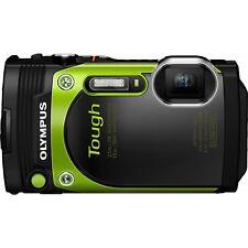 Olympus TG-870 Tough Waterproof Digital Camera with WIFI, 3-Inch LCD (green)