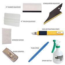 Car Window Tinting Tools Pre Cut Tint Film Auto Installation Premium Tool Kit
