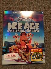 NEW! Ice Age 5 - Collision Course (Target Excl.) Bluray DVD Digital +Bonus! DEAL