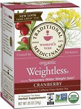 Traditional Medicinals Weightless Herbal Tea Bags, Cranberry 16 ea
