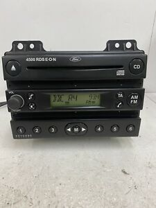 Ford Fusion Fiesta 4500 Rds Eon Car Stereo Radio Cd Player With Code Head Unit C