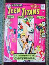 1965 Showcase #59 3rd App Teen Titans. Robin. Wonder Girl. Kid Flash COMIC BOOK!