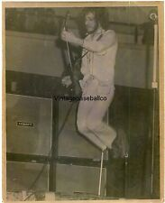 "RARE original 1970's THE WHO PETE TOWNSHEND b Concert Photo 8"" x 10"""