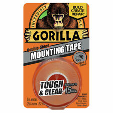 Gorilla Tape Indoor Outdoor Mounting Double Sided Clear 15# Weatherproof 6065003