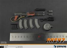 ZYTOYS ZY2008 Plastic Gun Model AKS47 Toy 1/6 Weapon Accessories W Folding Care