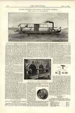 1891 Rueda de popa Vapor Congo alumbrado eléctrico nacional Sporting Club