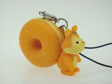 Japanese Mister Donut Shop Squirrel Figure Phone Charm Strap