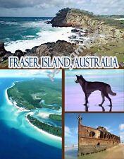 Australia FRASER ISLAND Travel Souvenir Fridge Magnet