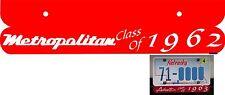 Nash Metropolitan License Under Plate Class Choice Of 3 Colors