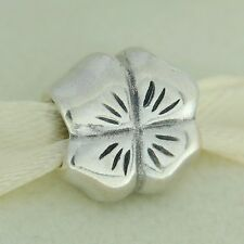Authentic Pandora 790157 Four Leaf Clover Sterling Silver Bead Charm
