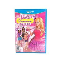 Barbie Dreamhouse Party (Nintendo Wii U) CIB Complete w/ Manual Tested & Working