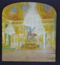 1850/60 Hold To Light Colour Tissue Stereoview Photo Palais De Tuileries Grau