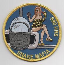 "USAF Patch 50 FLYING TRAINING SQUADRON, ""SNAKE MAFIA"" - Morale"