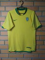 Brazil Jersey 2006 2008 Home SMALL Shirt Nike Football Soccer Trikot Maglia