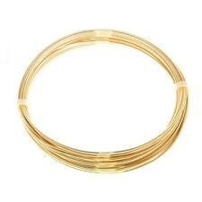 Bead Craft Wire Gilt on Copper 0.90mm (19 AWG) - 5 Metres (C68/4)