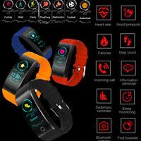 Reloj inteligente Smart Watch Ritmo cardiaco Blood Pressure Fitness Tracker QW18