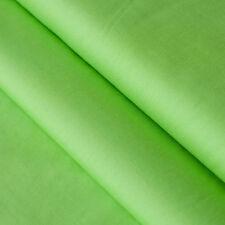 Baumwollstoff UNI Farbe Lime Grün 100% Baumwolle einfarbig