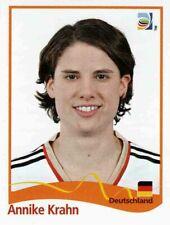 Panini FIFA World Cup 2011 Germany Women Sticker #31 Annike Krahn Germany