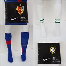 Nike Herren Kinder Fussball Stutzen Socken Strümpfe Brasilien Brazil Basel O 146