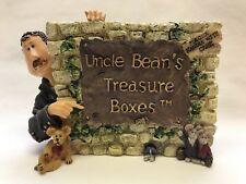 Uncle Bean & The McNibble Gang Treasured Memories-Boyds Bears Treasure Box #3999