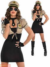 Shakedown Sheriff Ladies Fancy Dress Costume Sexy US Police Lady Size 10-12