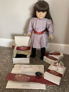 American Girl Doll Samantha Doll, Clothes, Shoes & Accessories Lot Original 1997