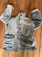 Vintage Hbt Jacket Veste Ancienne Us Army Military Wwii Ww2 Armee Usmc
