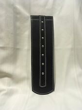Indian Motorcycle Leather Fender Bib Black Studded Captain Itch IFB5