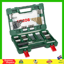 Bosch V-Line Titanium Drill Bits with Ratchet Screwdriver (91 Piece Set) NEW AU