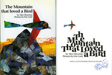 Eric Carle SIGNED AUTOGRAPHED The Mountain That Loved a Bird Hungry Catepillar