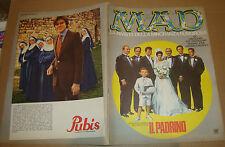 MAD RIVISTA NR. 8 1972 - WILLIAMS INTEUROPA /DON MARTIN/MORT DRUCKER/JACK DAVIS)