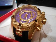 Mint Invicta Mens 0922 Reserve Collection Chronograph Black Watch. Box + Papers