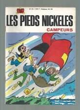 PELLOS . LES PIEDS NICKELES N°63 . CAMPEURS . EO SPE . 1968 .