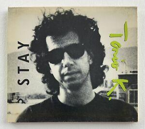 TONIO K Stay 1988 PROMO Rare Radio DJ CD Digipak Single w/ KINKS TOUR STICKER