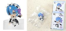 PUTITTO Re Zero Starting Life in Another World Sits on Glass Figure Rem Vaulting