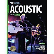 Rockschool Acoustic Guitar Grade 1 from 2016 (Book/Online Audio)