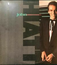 John Hiatt Warming Up To The Ice Age Vinyl LP Record 1985 EX, VG+ GHS 24055