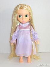 Disney Store Tangled Rapunzel Animators Doll Tinsel Hair Nightgown 1st Edition