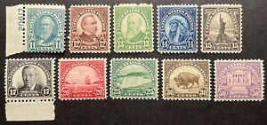 TDStamps: US Stamps Scott#692-701 (10) Mint NH OG