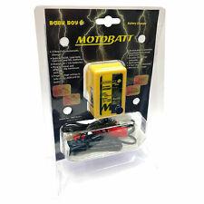 Motobatt Motorcycle Battery Charger  6V & 12V Baby Boy Auto Cut Off