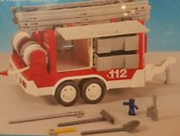PLAYMOBIL 7485 City Action - Feuerwehr-Anhänger NEU Anhänger mit viel Stauraum