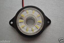 2 24v Giratorio/Funcionamiento LED Blanco Lateral Luces de marcaje para VW