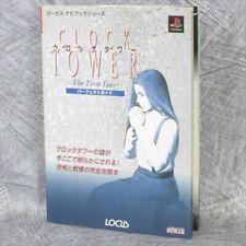 Horloge Tower The Premier Fear Parfait Guide sony Ps Livre 1997 LO13