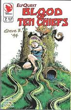 ELFQUEST BLOOD OF TEN CHIEFS #7 (VF) SIGNED ON COVER BY STEVE BLEVINS
